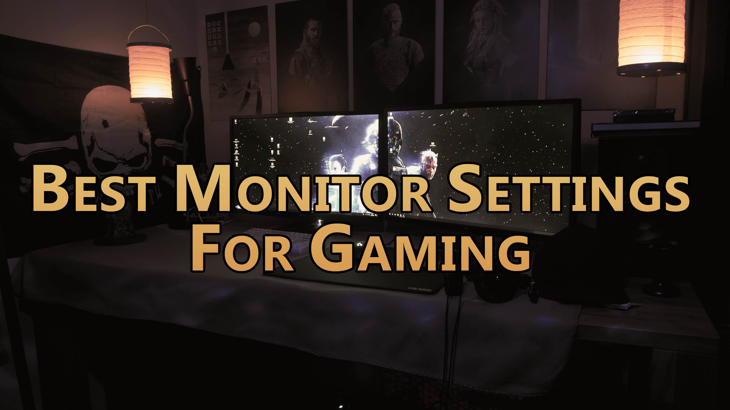 Best Monitor Settings For Gaming - For all Games