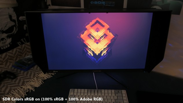 acer x27 ips quantum dot color comparison