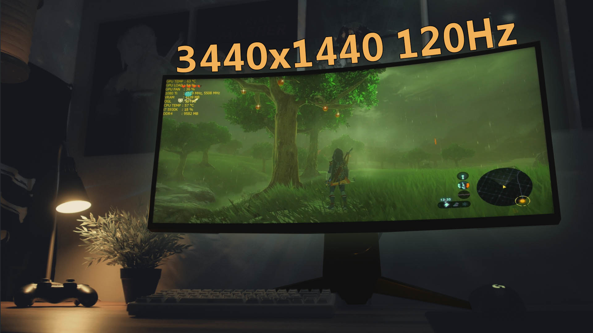 Alienware AW3418DW Review | Lim's Cave