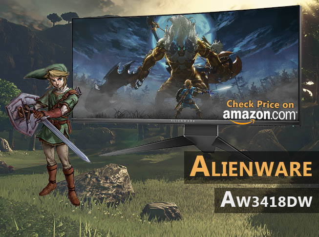 Alienware AW3418DW Review 120Hz Ultrawide Gaming Monitor 3440x1440