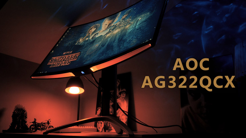 AOC AG322QCX Review