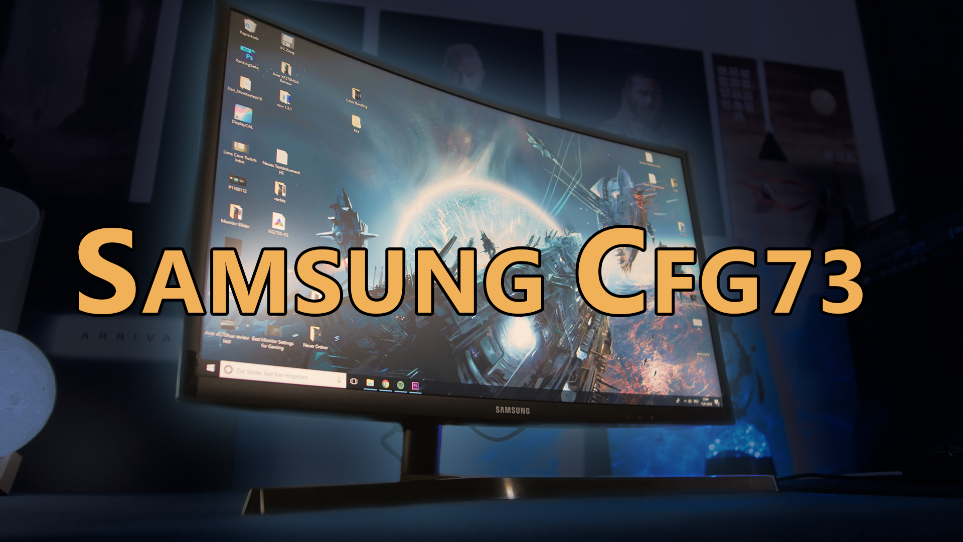 Samsung CFG73 Review: 144Hz Quantum Dot Gaming Monitor