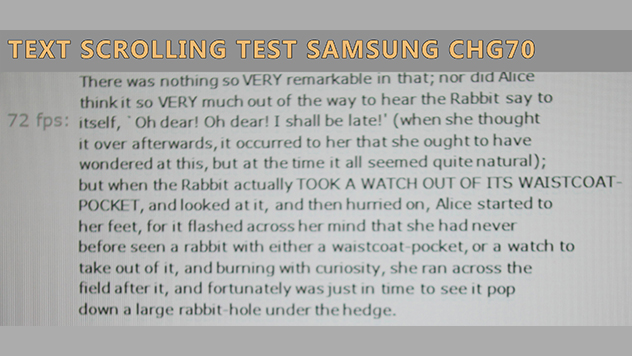 samsung chg70 review