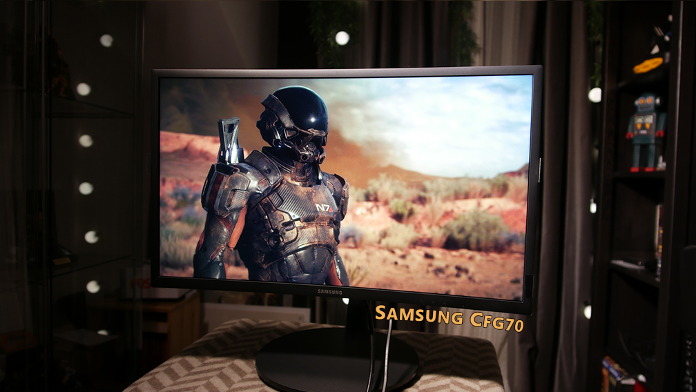 Samsung CFG70 Review - 144Hz Quantum Dot